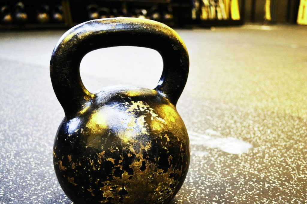 home gym kettlebells